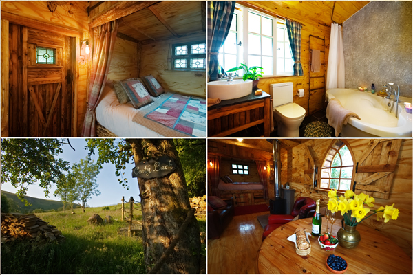 Coety Bach Cabin Picture Gallery